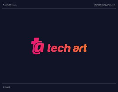 tech art - Logo Design