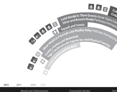 Nirav Sahani's Infographic CV