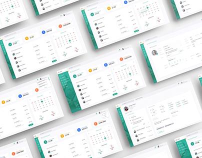 Dawi - Dashboard Design