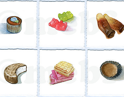 Morsels - Candy & Snack Paintings