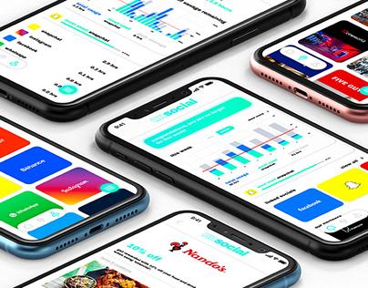 Unsocial - social media addiction app