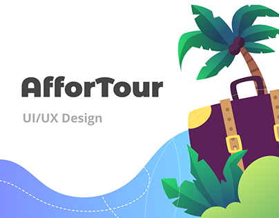 AfforTour - UI/UX Design