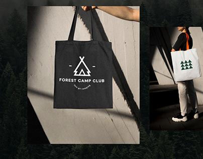 Forest Camp Club : Logo Design