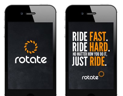 Rotate Bike Riding Gear Branding