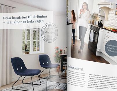 Mockfjärdshus, House catalogs