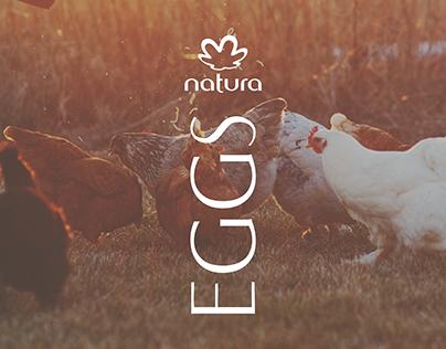 Natura EGGS - Design de Embalagem