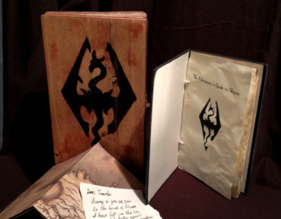 Packaging: Skyrim Booklet