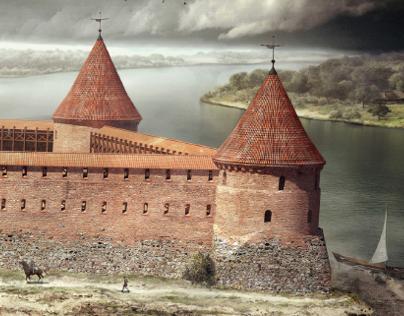 3D Castle visualization