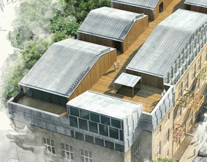 3D House visualization, Vilnius