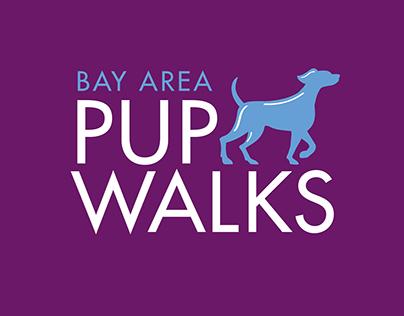 Bay Area Pup Walks Logo Design