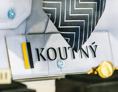 KOUTNÝ: classic fashion producer branding