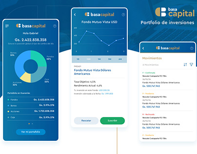 Mobile App - Basa Capital