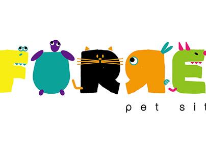 Furrenz Pet Sitter-Logo Design