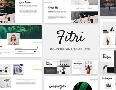 Fitri - Creative Presentation Template