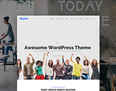 Beyond WordPress Theme Presentation