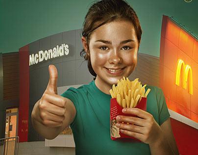 """ Macdonald "" unofficial Ad"