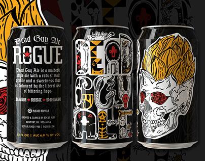 Dead Guy Ale - Rogue Beer Label