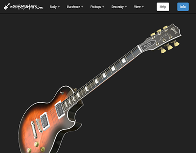 Norita Guitars 3d demo