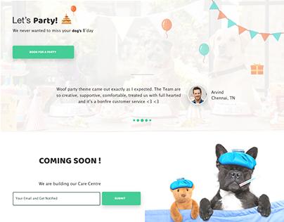UI Design - Website