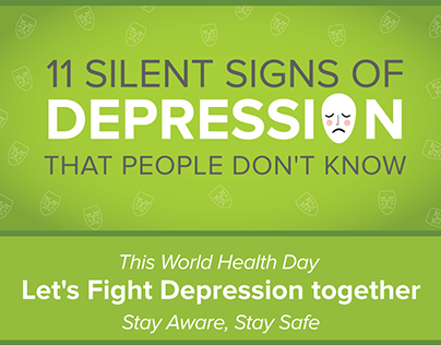Silent Signs of Depression - World Health Day