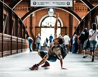 Dança cotidiana - Estação da Luz