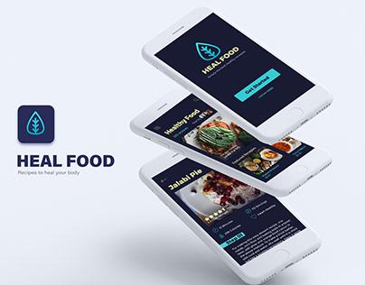 Heal Food App Concept