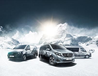 Mercedes Benz / V-Class Experience