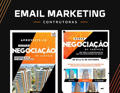 Construtoras | Email Marketing