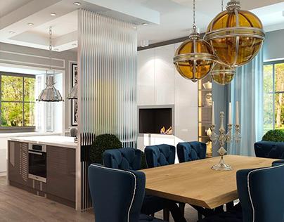 Marina - interior design