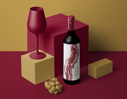 Altura Wine Label