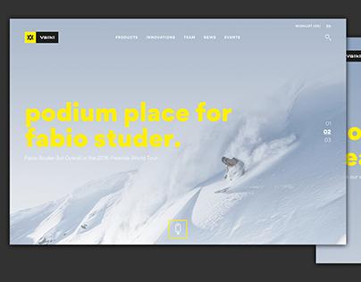 völkl freeride website