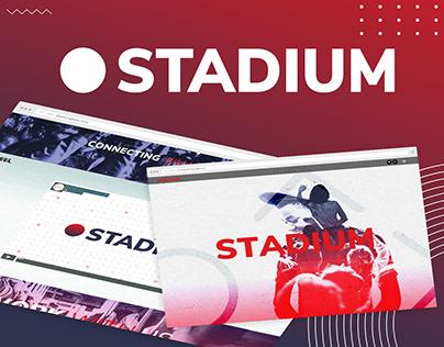 Sitio web Stadium - Dirección Creativa