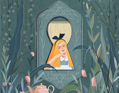 Alice's adventures in wonderland | Personal work