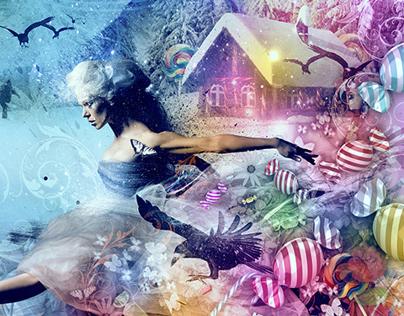 Hansel & Gretel Poster for Scottish Ballet