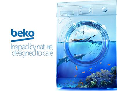 Beko Washing Machine Add Concept