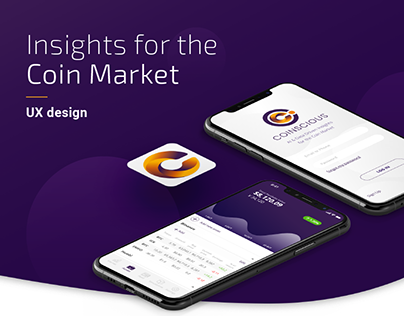 Cryptocurrency App - User Experience Design