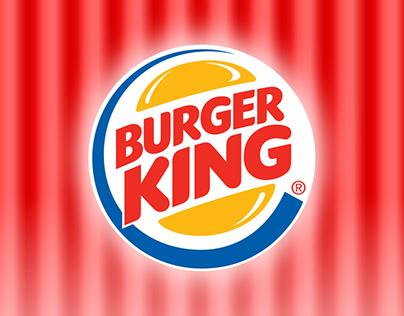 Burger King. Облицовка здания.