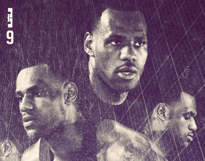 Lebron 9 Poster Series