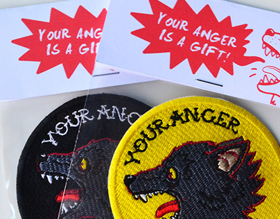 Your anger is a gift - Patch design