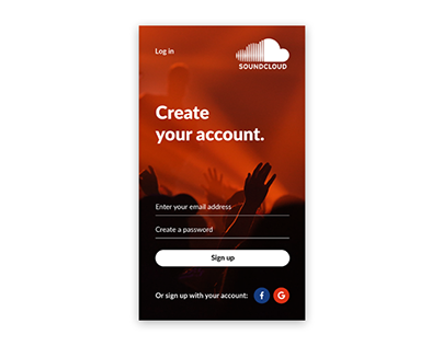 Daily UI - 1/100: Signup Screen