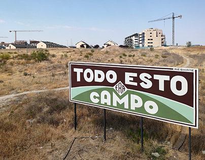 """""""Todo esto"""" Wall (Rivas-Vaciamadrid, España)"""