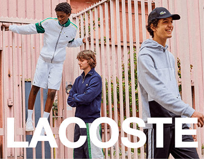 LACOSTE   Redesign concept