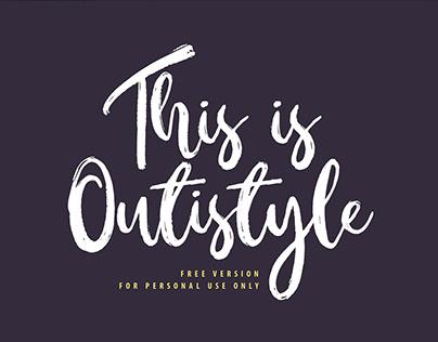 Outistyle - FREE FONT