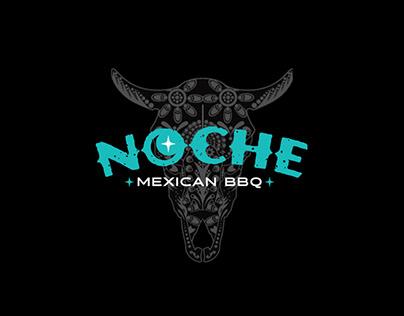 Noche Mexican BBQ Branding