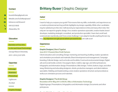 Resume and Cover
