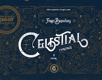 Celestial Typeface