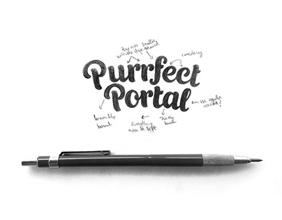 Logo design - Purrfect Portal