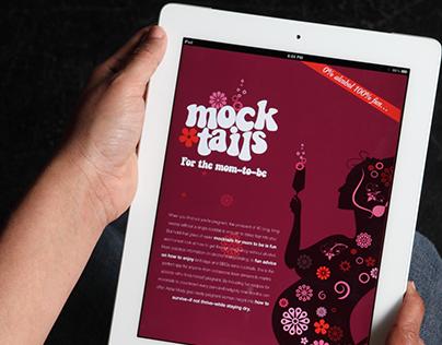 Mocktail - Branding Packaging and App design.