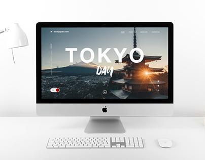 Landing Page Concept - Japan