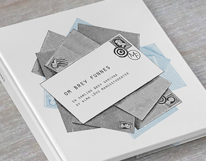 OM BREV FUNNES book design